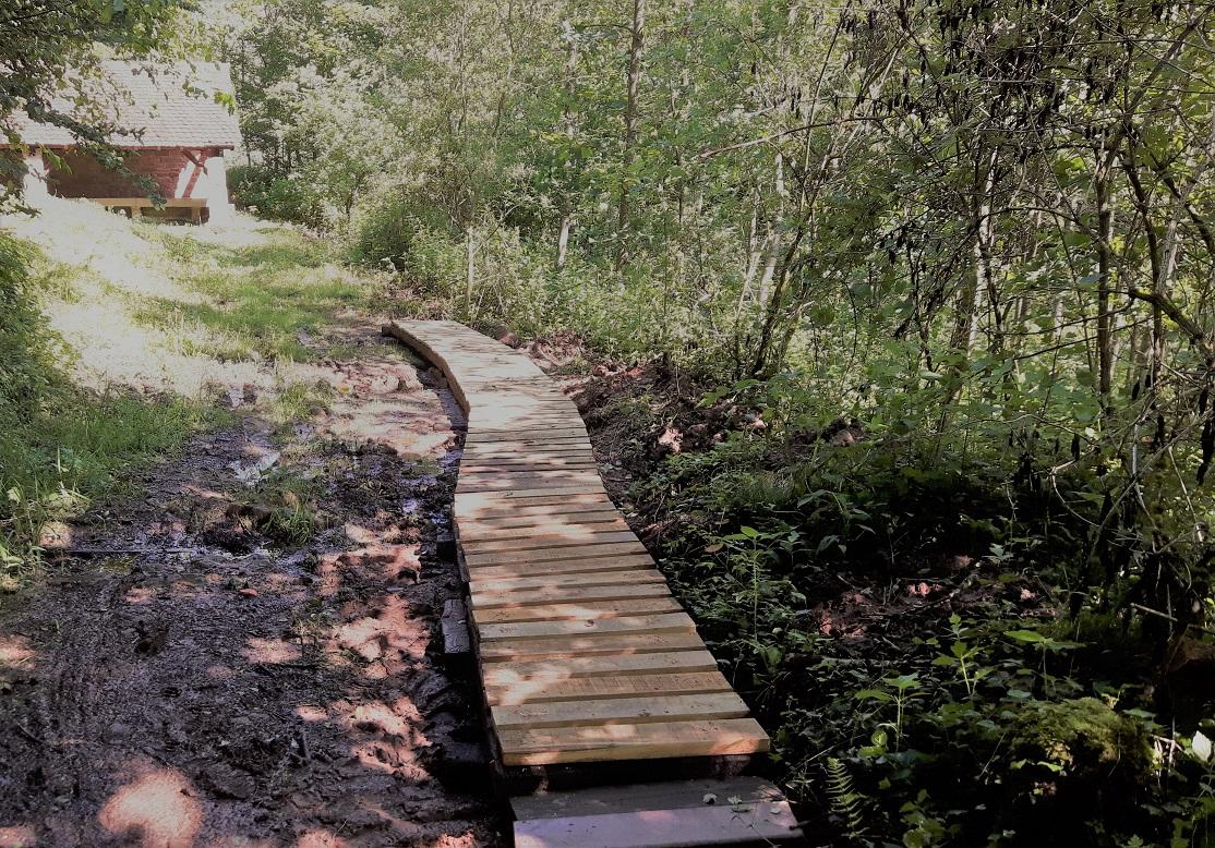 Beau passage mis en place au lavoir du Brunnenthal