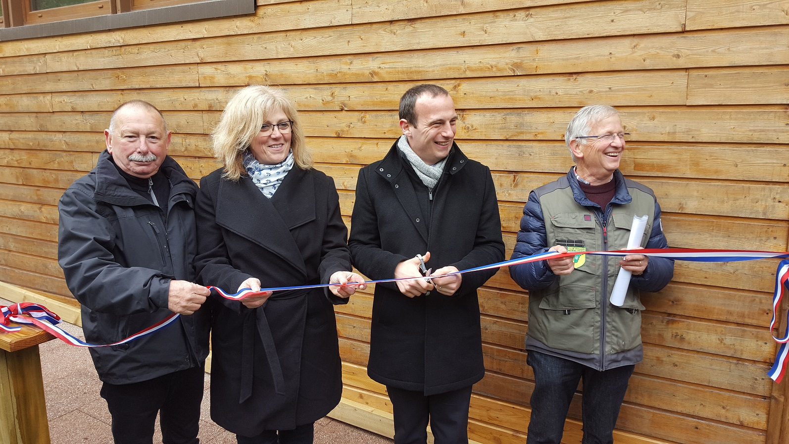 Inauguration du chalet