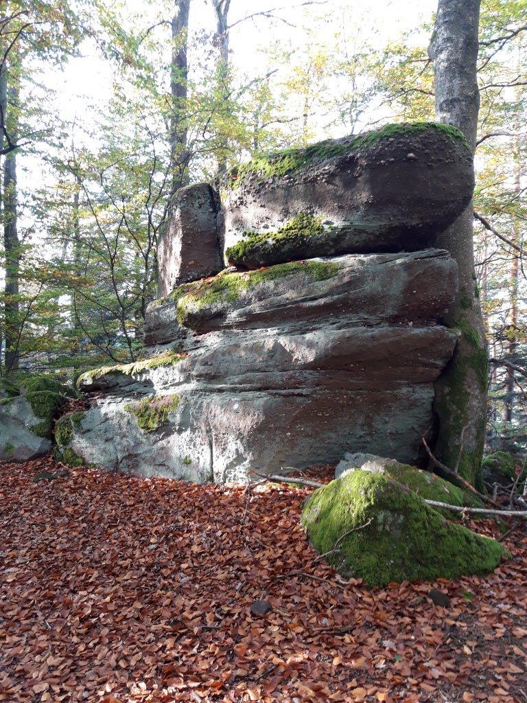 Impressionnant rocher