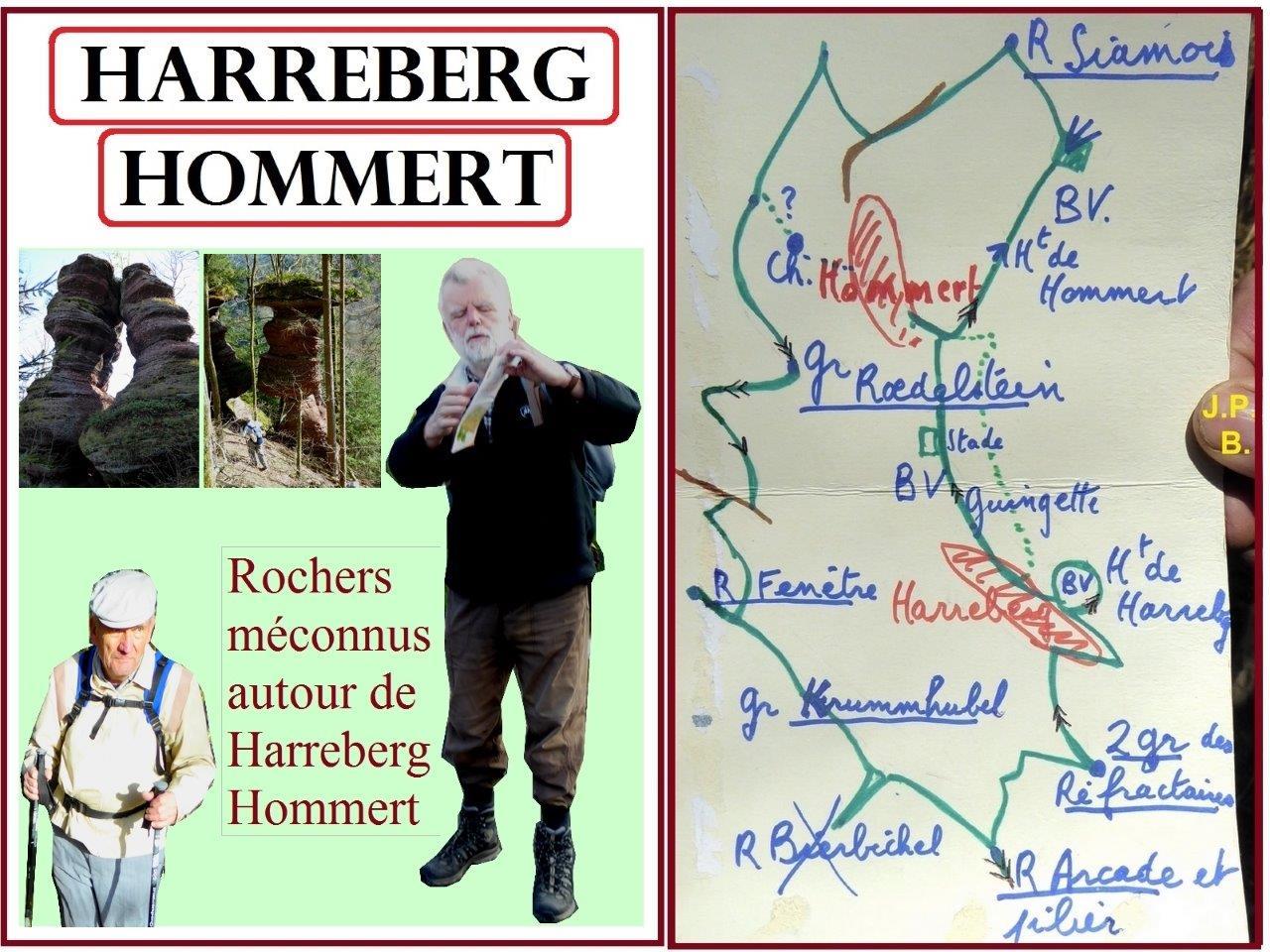 Harreberg-Hommert : des rochers méconnus