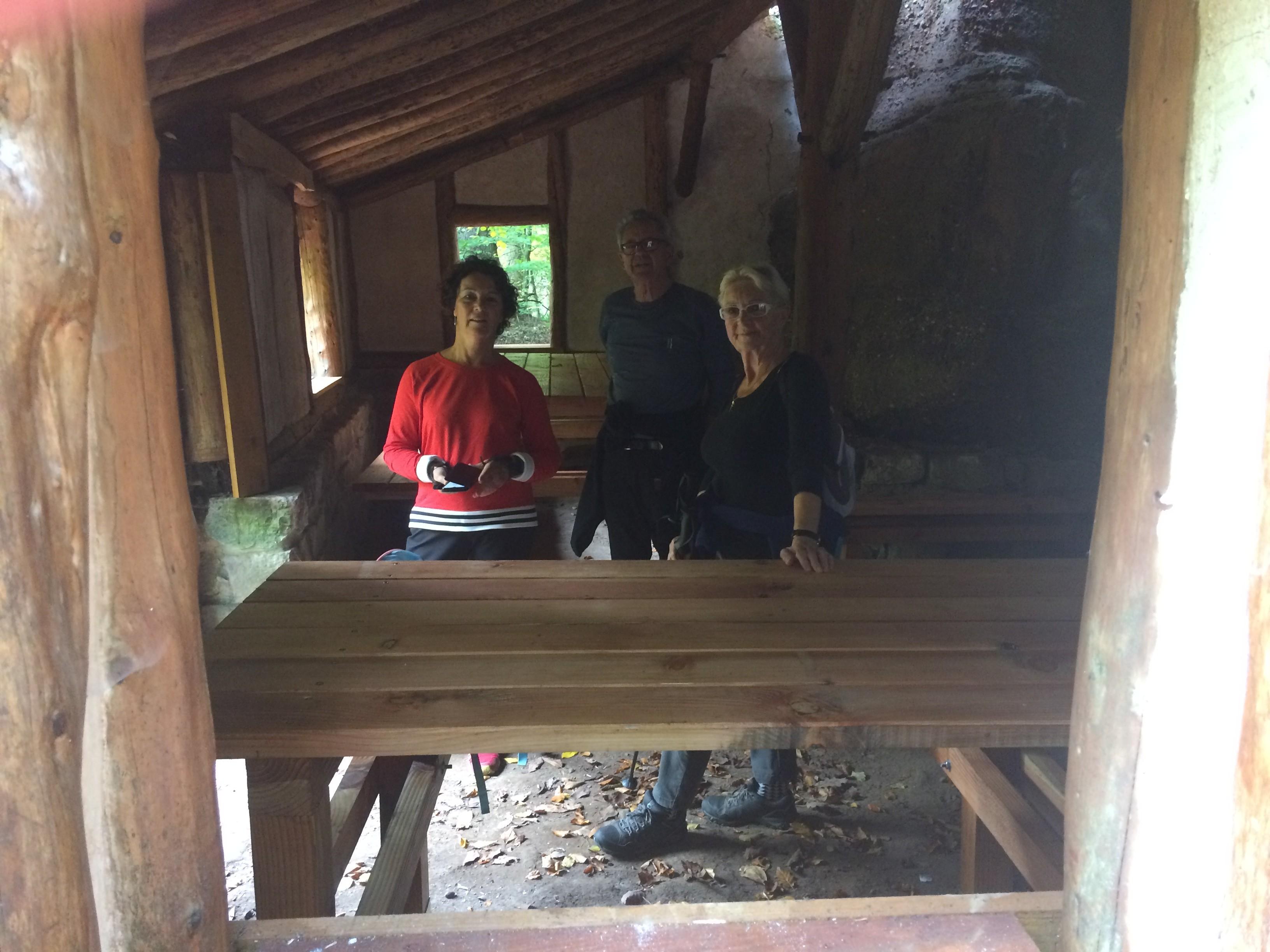 Visite intérieure maison de l'ermite